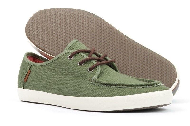 Vans Washboard (Tudor) Surf Loden Green Men's Slip Surf (Tudor) Skate Shoes SIZE 7.5 cae750