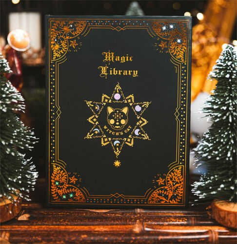 Retro Medieval Spirit Notebooks Magical Pages A5 Size School Journal Book Gift