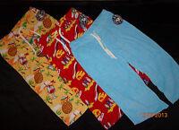 Terry Cloth Grandma Pants Beach Party / Pajama Soft Long Adult Sz M
