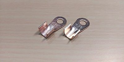 RNB1.25-3 Ring Un-Insulated Electrical Crimp Terminal Eyelet 10 PACK 3.2mm