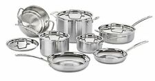 Cuisinart MCP-12N Multiclad Pro Stainless Steel 12-Piece Cookware Set NEW