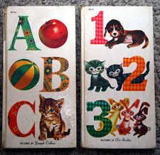 ABC - Joseph Cellini & 123 - Art Seiden (1958) McLoughlin Bros. #3075 & #3076
