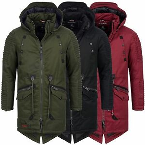 navahoo geronimo herren luxus winterjacke mantel parka winter jacke warm s xxxl. Black Bedroom Furniture Sets. Home Design Ideas