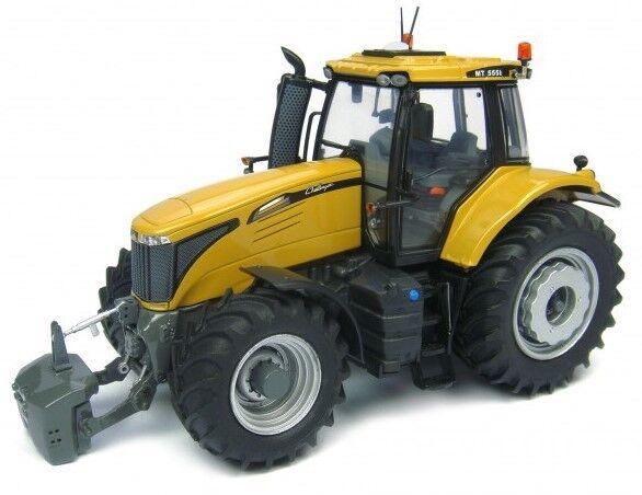 UH4875 - Tracteur CHALLENGER MT 555E équipé du relevage avant avec masse - 1 32