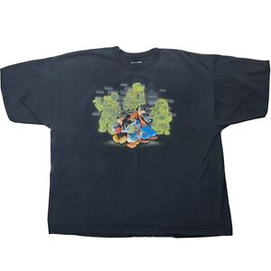Disney-Haunted-Mansion-Watch-Out-For-Hitchhiking-Ghosts-Shirt-XXL-Double-Sided