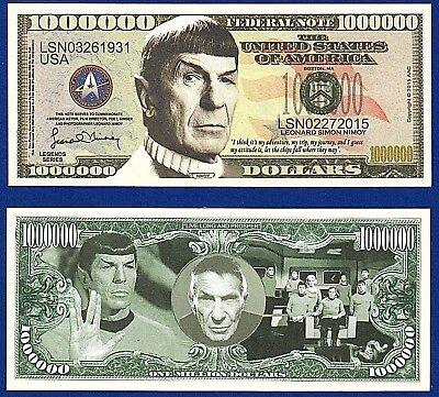 Star Wars Novelty Dollar Bills Force Awakens Collectible FAKE M3 MONEY 2