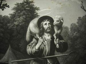 Jesus-Hirte-Alexandre-Wein-Sixdeniers-D-039-Ap-Bartolome-Esteban-Murillo-XIX-82-CM