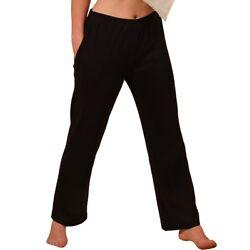 Damen Homewear Hose Jogginghose Freizeithose EU-Baumwolle XXL ÖKO-Tex HERMKO 984