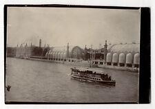 PHOTO - PARIS - EXPOSITION EXPO UNIVERSELLE DE 1900 - Tirage d'époque Bateau