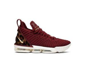 Ao2588 Gold King Xvi The Nike hombre Lebron 16 zapatillas para 5 Leopard 13 601 talla Red YwqRU46xT