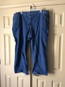 4c9d66fc9e9 Woman Within Elastic Waist Blue Jeans Womens Plus Size 28W petite ...