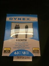 Dynex 6' High Speed HDMI Cable Micro HDMI to HDMI DX-6HDAD