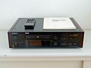 Sony-CDP-X777ES-High-End-CD-Player-neue-Riemen-FB-amp-BDA-2J-Garantie