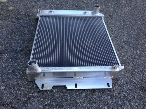 ALUMINUM RADIATOR FOR 1987-2002 JEEP WRANGLER TJ// YJ 3ROW Chevy V8 Conversion