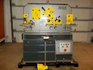 -FERRAILLEUSE 60T IRONWORKER Canada Preview