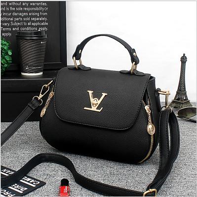 Leder Damen Tasche Shopper Handtasche Schultertasche Umhängetasche Damentasche-2