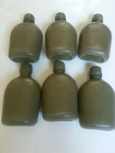 American Military Surplus Canteen - 1 Quart Olive Green - Damaged