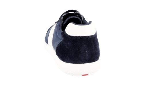 Nouveaux 41 Bleu 5 7 Blanche 42 Chaussures 5 Prada 4e2845 Luxueux XqFF7T