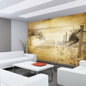 vlies fototapete no 1291 strand tapete muster meer. Black Bedroom Furniture Sets. Home Design Ideas