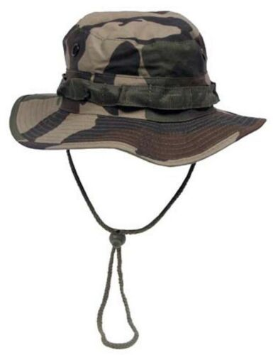 XL GI Boonie Hat Rip Stop Outdoor Dschungel Buschhut CCE-camo S