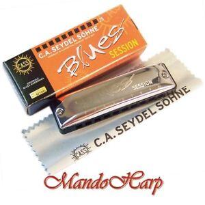 Seydel-Harmonica-10201-Blues-Session-C-NEW