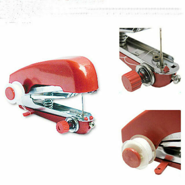 LEANO Portable Needlework Cordless Mini Manual Clothes Sewing Machine Industrial Sewing Machines