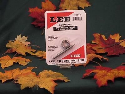 90043 Lee Length Gauge Shell Holder 6.5 Carcano