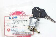 Sitzbankschloß seat lock original SYM - siehe Liste  ET: 77233-M9Q-900 NEU!