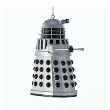 """Doctor Who Silver Dalek Christmas Tree Bauble/Ornament/Decoration 3.5"""" tall NEW"""