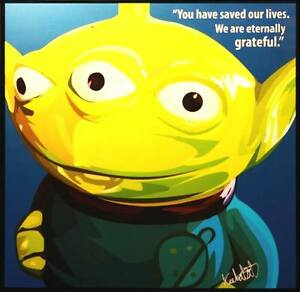 Little-Green-Men-Toy-story-canvas-quote-wall-decal-photo-painting-pop-art-poster