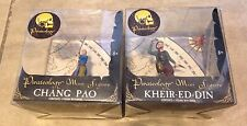Lot 2 Chang Pao & Kheir-Ed-Din Pirateology Mini Figures Sababa Toys NEW in box