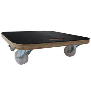 Heavy Duty Trolley Furniture Skate, 450KG Load Capacity (485-485MM Wooden Plate)