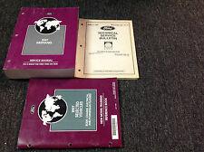 1997 Ford Mustang Gt Cobra Service Shop Workshop Manual Set w Bulletin + OEM