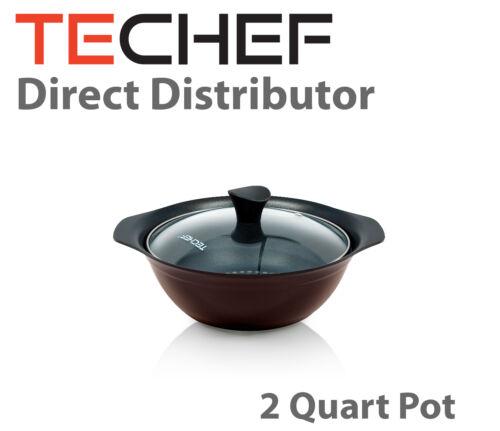 2 Quart Blooming Flower Soup Pot TeChef