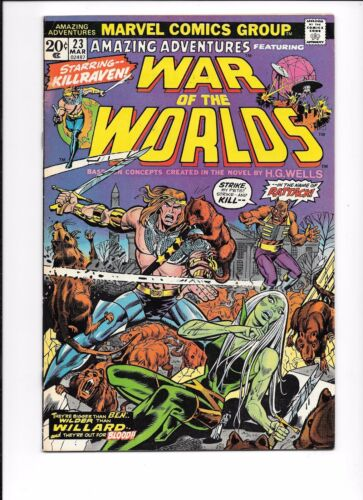 Amazing Adventures Featuring War Of The Worlds #23 March 1974