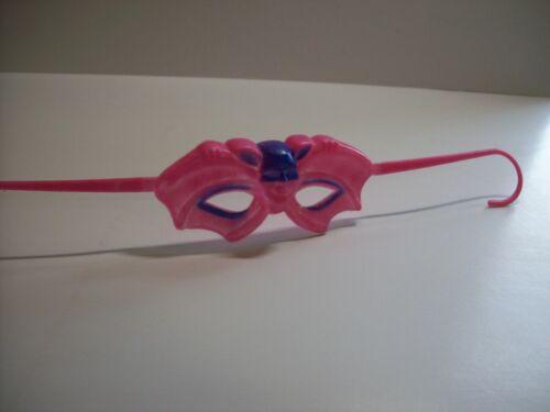 Halloween Weird Bat Man Costume Plastic Glasses NOS 1960s Hong Kong Vintage