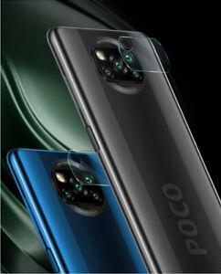 2x-Pellicola-Fotocamera-Protezione-Vetro-Temperato-per-il-Pocophone-X3-NFC