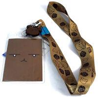 Ouran High Shool Host Club Bear Lanyard W/ Id Badge Holder & Charm Official
