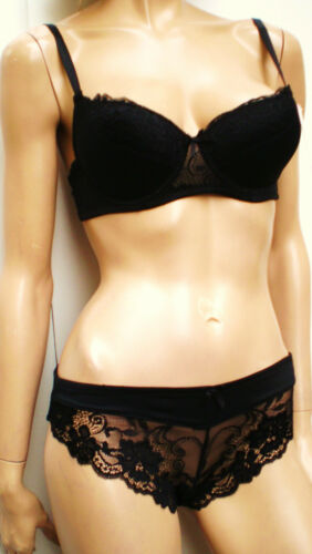 New Classical Bust Enhancer Bra Sets With Lace Mix/&Match 32-40= pants up to-2x//l