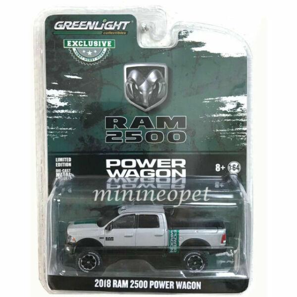 Greenlight Dodge RAM 2500 Power Wagon 2016 Silver 30014 1//64