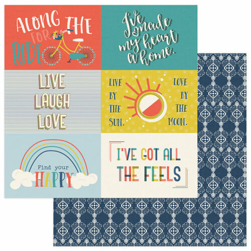"""PhotoPlay Paper /""""Free Bird/"""" 12x12 Collection Pack Papers Stickers"""