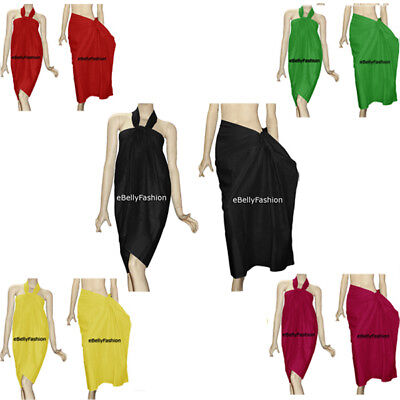 Women Beach Wear Bikini Wrap Cotton Sarong Summer Wear Pareo Wrap 30 colors