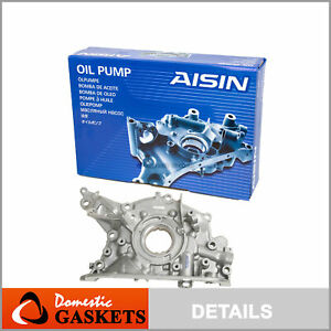 AISIN Oil Pump Fit 89-95 Toyota Pickup T100 4Runner 3.0L SOHC 3VZE