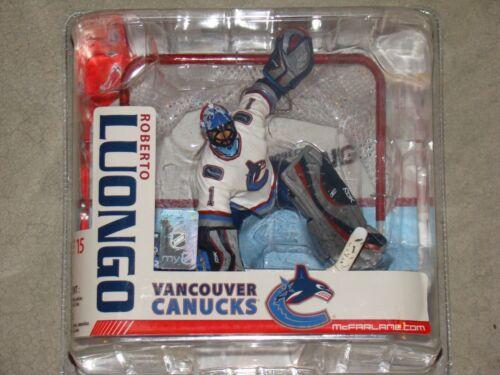 Mcfarlane NHL 15 Roberto Luongo Vancouver Canucks Figure Dent Packaging