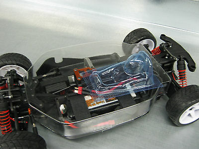 HPI WR8 LEXAN INTERIOR W/DRIVER TOP COVER OVERTRAY  by TBG       for coupe body