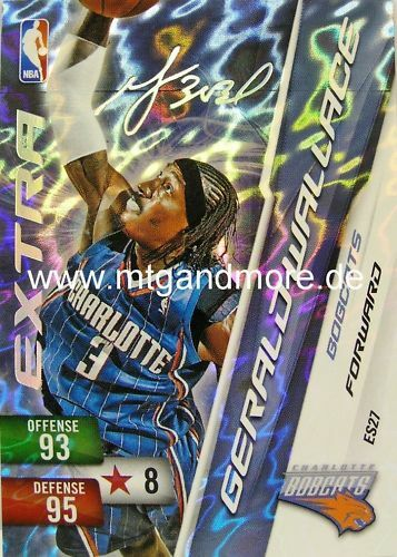 Panini NBA adrenalyn xl 2011-Gerald wallace-EXT sig