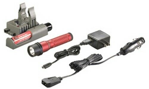 Streamlight 74787 Strion HL C4 LED Rechargable Flashlight 120/DC Charger, ROT