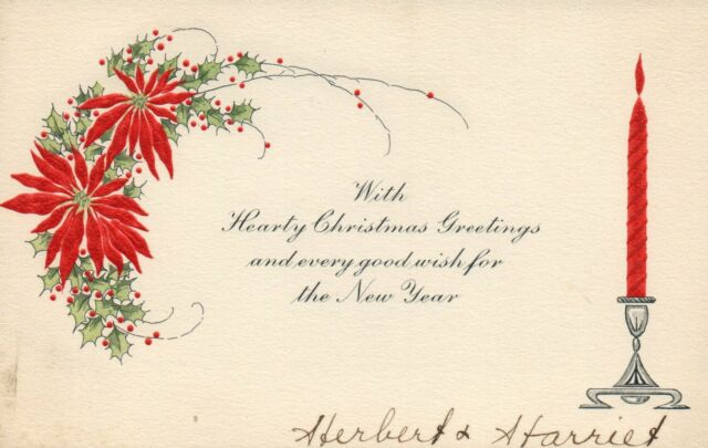 Poinsettia And Red Candle Stick Christmas Poem Merry Christmas Postcard Ebay Give these fun poems that praise jesus and the. usd