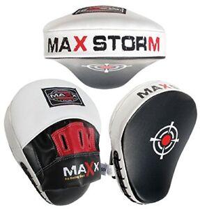 EVO Curved Boxing MMA Focus Pads Muay Thai Martial Arts Training Pad UFC PRO