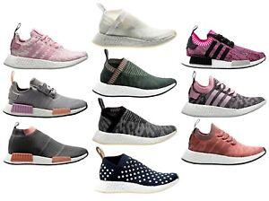 Details about Adidas Originals NMD_R2 Women's ® (Size UK: 6 EU 39.5) Grey Pink Latest NEW